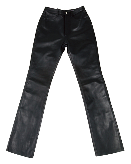CDP-311 LEATHER PANTS ブラック