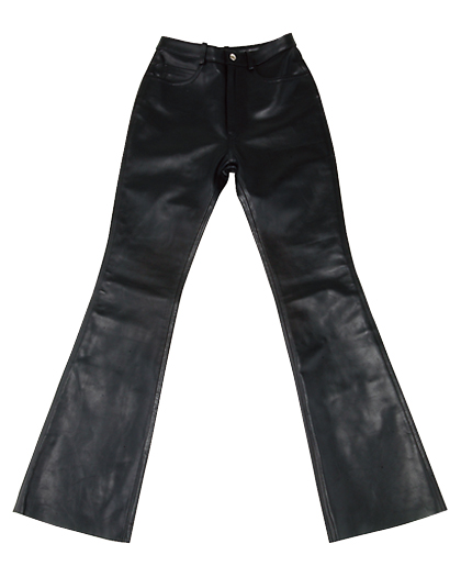 CDP-312 LEATHER PANTS ブラック